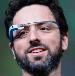 Sergueï Brin et Google Glass