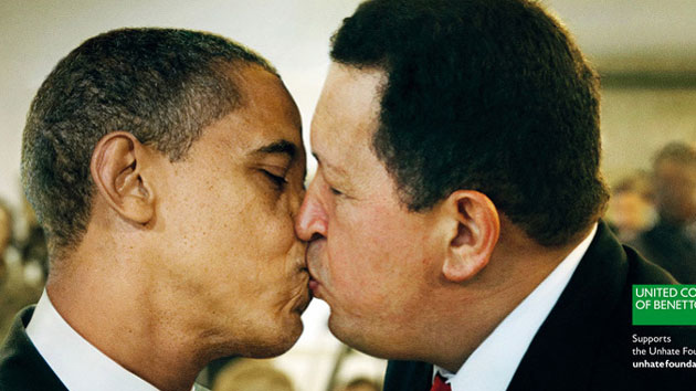 benetton-obama-chavez